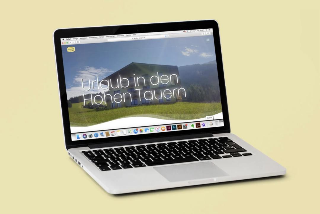 Website Berghof Luegeck