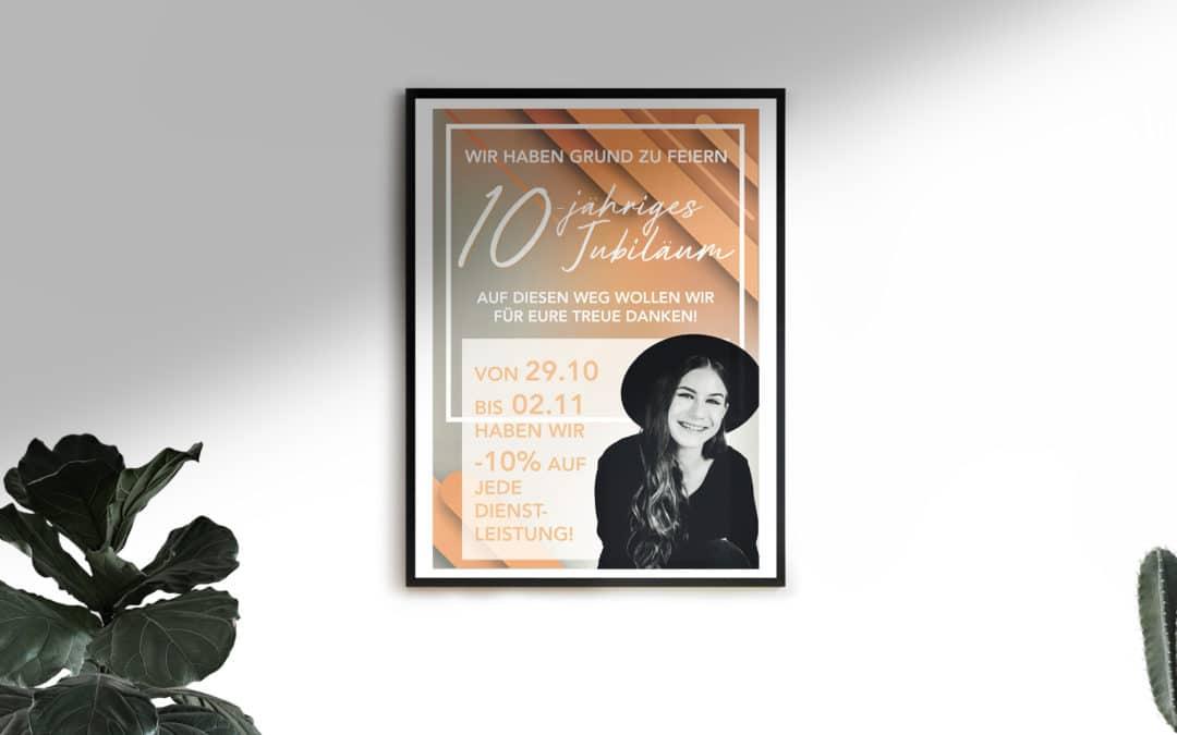 Plakat Anitas Hairstylestudio